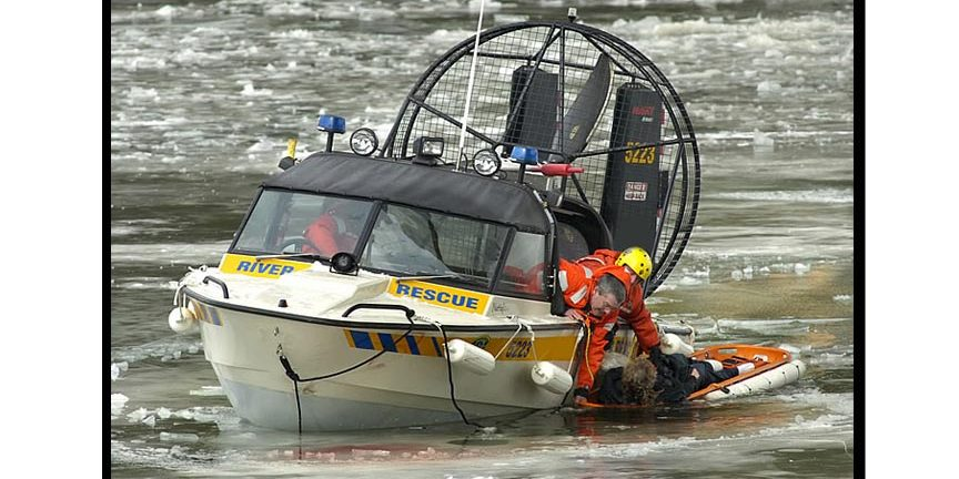 Ice Water Rescue