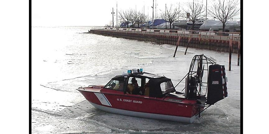 US Coast Guard on Water