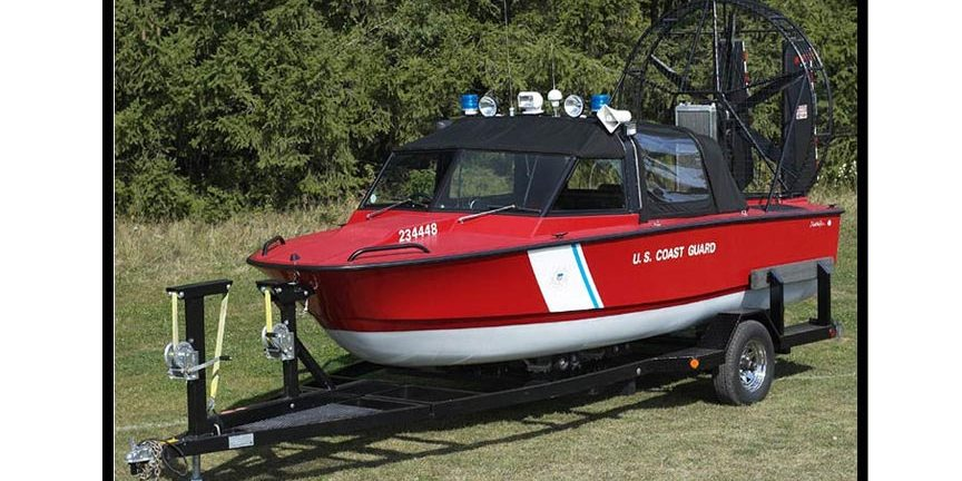 US Coast Guard Airboat