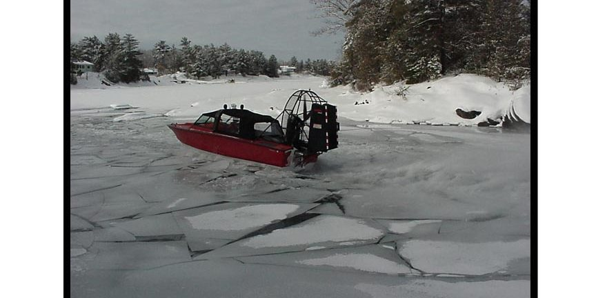 Driving on Broken Ice