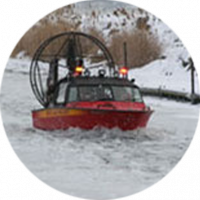 West Lake Air Rescue Boat by Biondo Boats