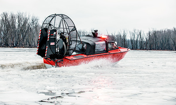 Biondo Search & Rescue Airboat